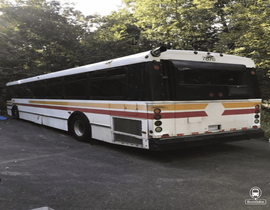 2000 Orion Transit Bus | Single Bus - BusesOnline - Buses