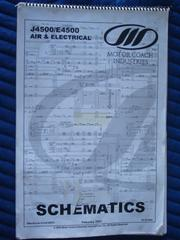 MCI Electrical & Air Schematics for J-4500 & E-4500 Models