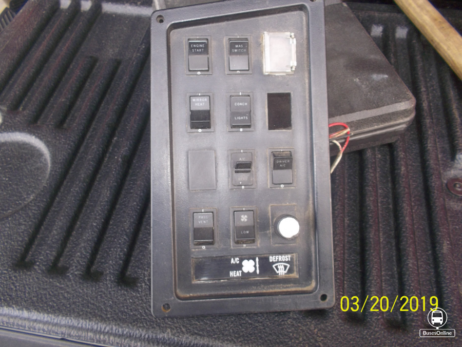 Various dash switches