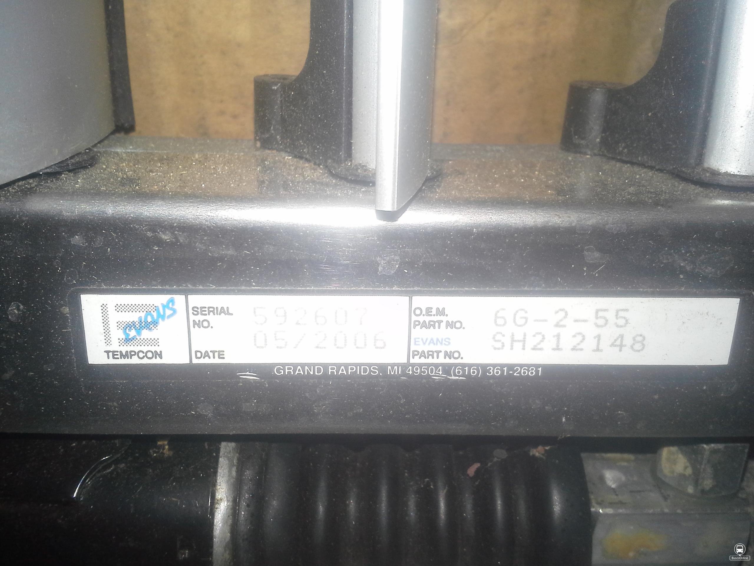 mc 5 thru mc9 stainless steel shutterstat assembly