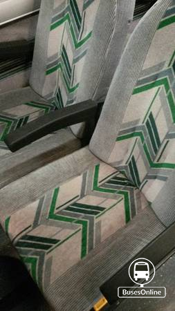 PREVOST BUS SEATS SET