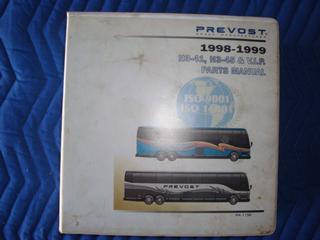 Prevost H3-41/H3-45 & VIP Parts Manual