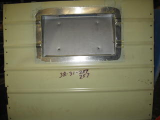 Engine door panels and more body panels
