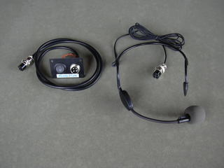 PA headset microphone for Jensen PA500