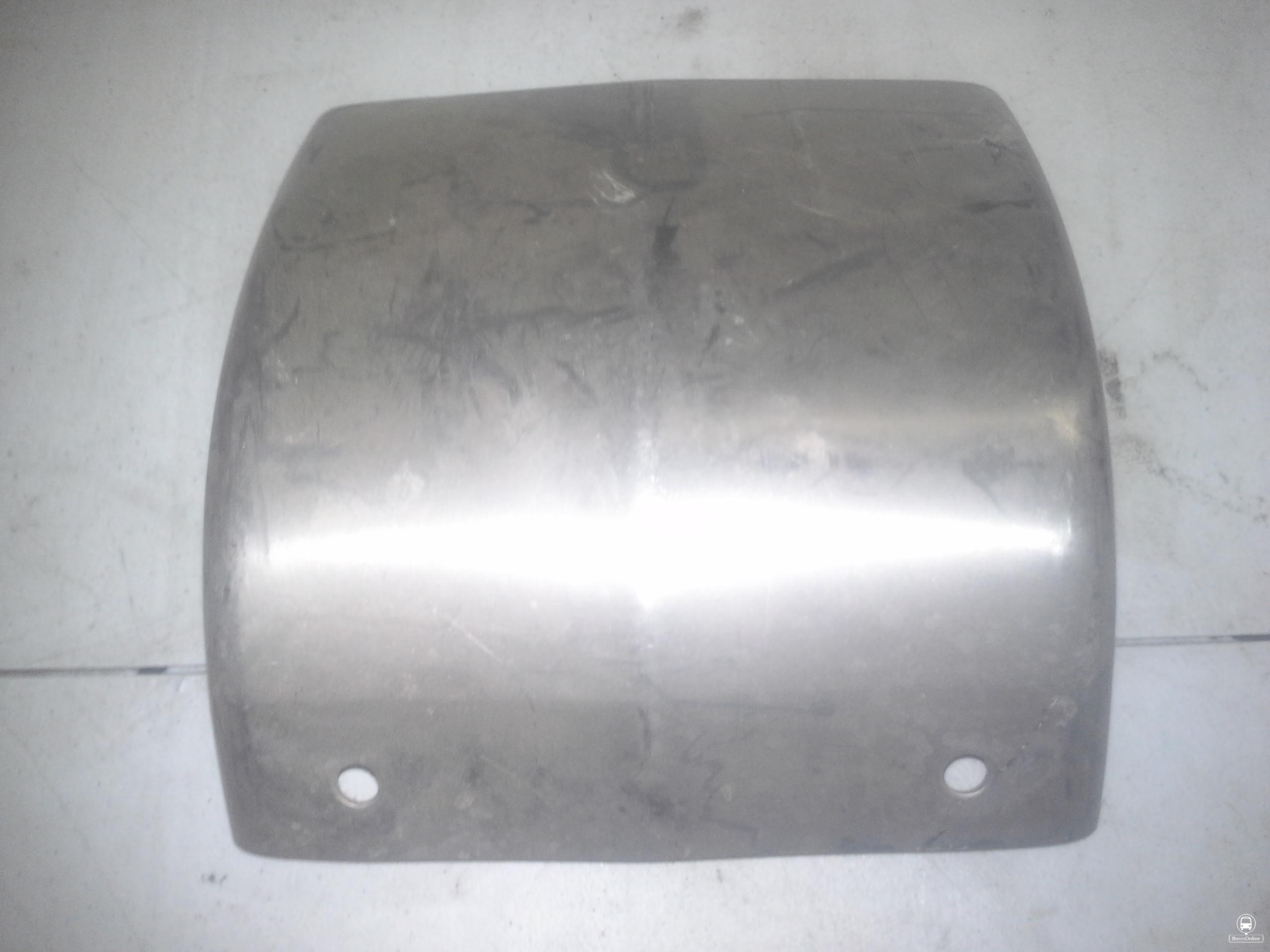Prevost front or rear corner bumper piece