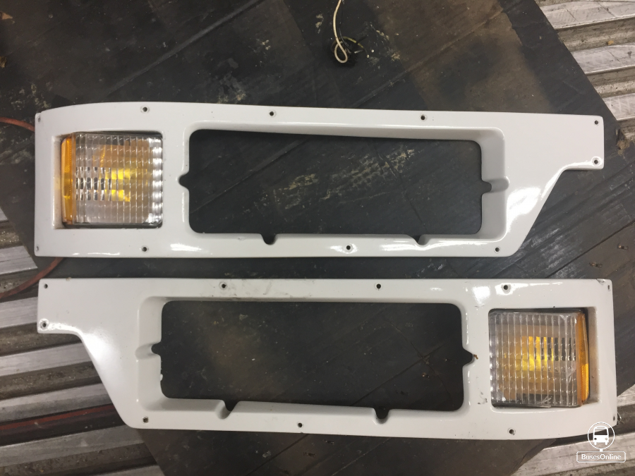 1999-2001 H3-45 Headlight Bezels